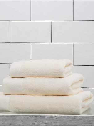 Frette Diamond Border Egyptian Cotton Bath Towel
