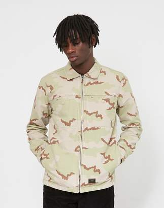 HUF Reine Long Sleeve Shirt Camo