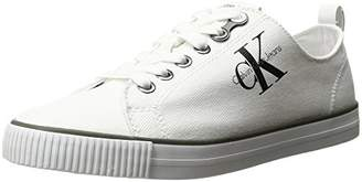 Calvin Klein Dora Canvas Low-Top Sneakers
