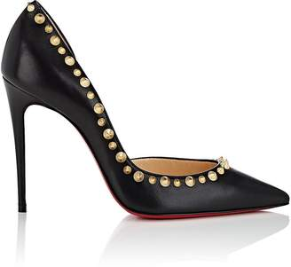 Christian Louboutin Women's Irishell Leather Half D'Orsay Pumps