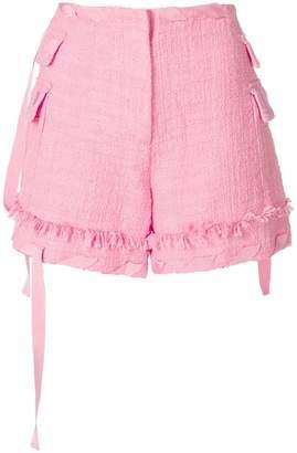 MSGM ribbon detail shorts
