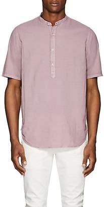 Officine Generale Men's Washed Cotton Shirt - Lt. Purple