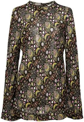 Chloé abstract print blouse