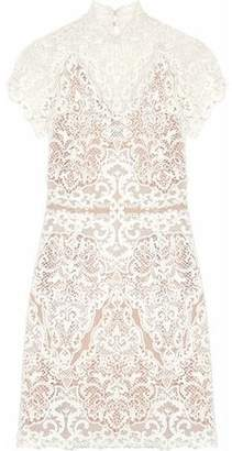 Catherine Deane Java Guipure Lace Mini Dress