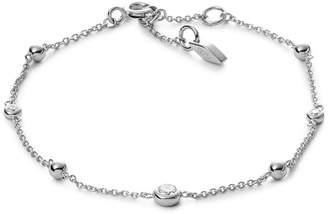 Fossil Glitz Sterling Silver Bracelet Box Set