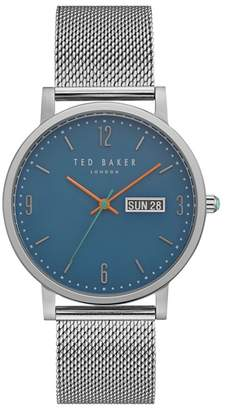 Ted Baker NR  Men's Silver Analogue Watch Te15196013