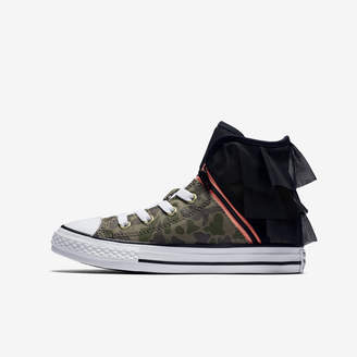Nike Converse Chuck Taylor All Star Camo Gold Block Party High TopLittle/Big Kids' Shoe