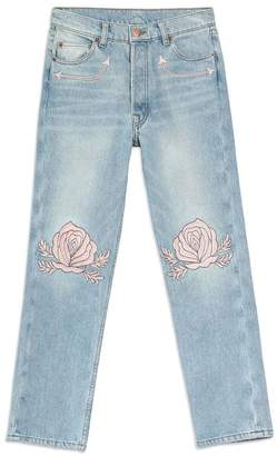 BLISS AND MISCHIEF Song Of The West Embroidered Vintage Denim