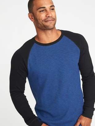 Old Navy Soft-Washed Thermal Raglan Tee for Men