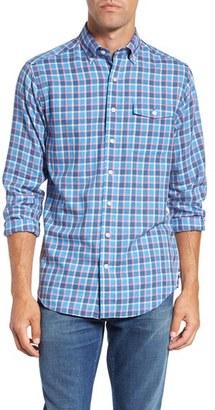 Men's Vineyard Vines 'Seaview - Crosby' Slim Fit Check Sport Shirt $98.50 thestylecure.com