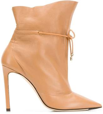 Jimmy Choo Stitch ankle boots