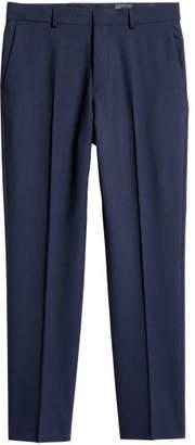 H&M Wool Suit Pants Regular fit - Blue