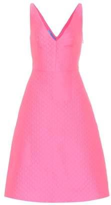 Prada Textured midi dress