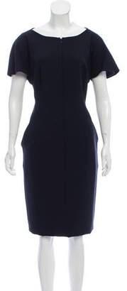 Akris Wool Knee-Length Dress w/ Tags