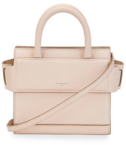 Givenchy Horizon Nano Grained Leather Satchel Bag $1,390 thestylecure.com