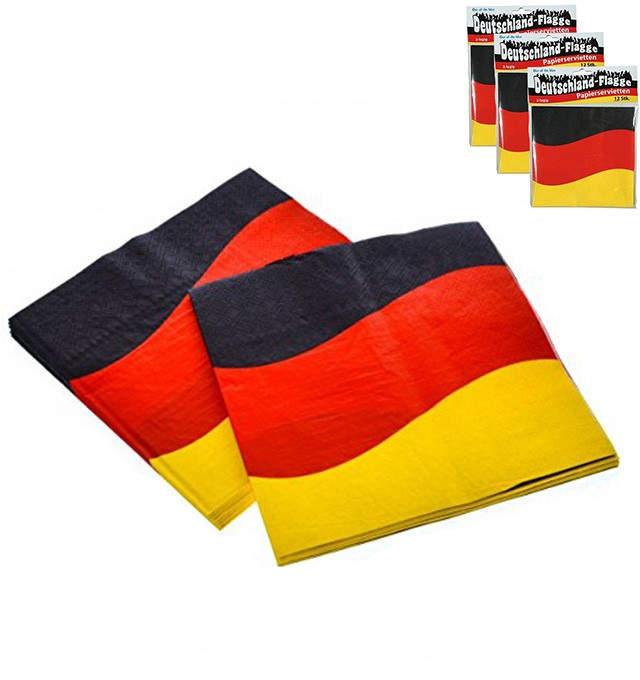 36er-Set Papierservietten Deutschland