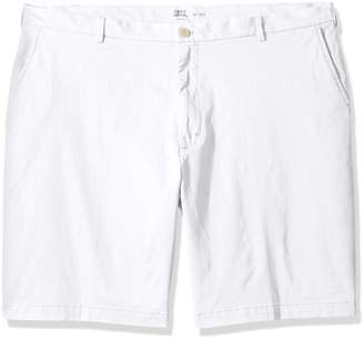 Izod Men's Big and Tall Saltwater Stretch Chino Short