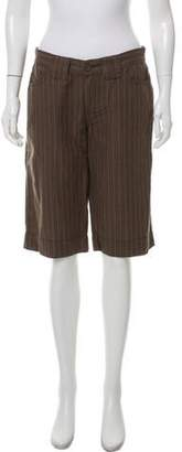 Calvin Klein Jeans Linen Knee-Length Shorts
