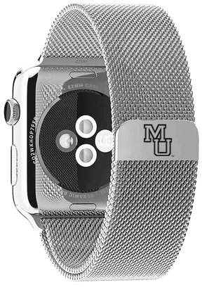 Affinity Bands Mercer Bears Stainless Steel Band for Apple Watch - 42mm