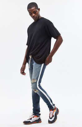 Pacsun Stacked Skinny Side Stripe Medium Jeans