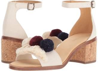 71e5e99813e8 ... Soludos Capri Pom Pom Heel Women s Shoes