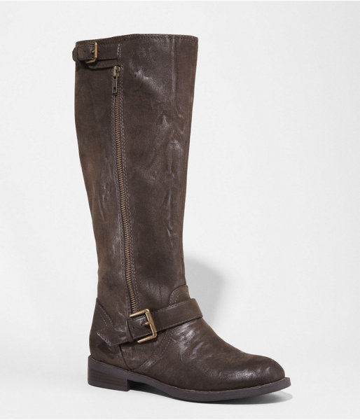 Express Distressed Riding Boot