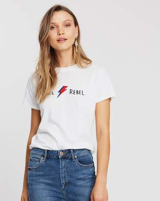 Topshop Rebel Rebel T-Shirt by And Finally