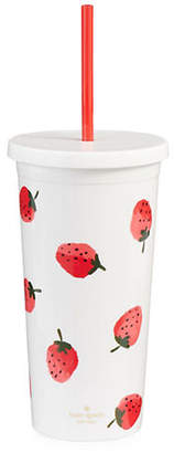 Kate Spade Strawberry Print Insulated Tumbler
