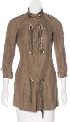 Gryphon Long Sleeve Embellished Jacket