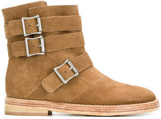 Twin-Set buckle strap boots