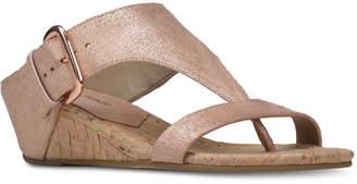 Donald J Pliner Doli Wedge Sandals