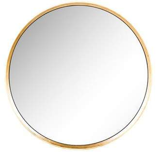 Gilt Round Wall Mirror