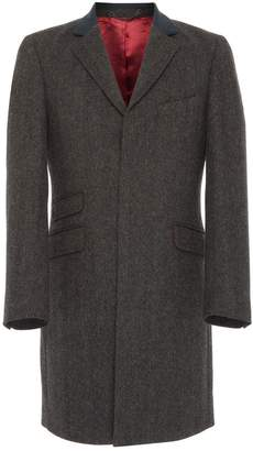 Osso London - Bosc Charcoal British Wool Tailored Coat
