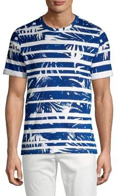 Michael Kors Abstract-Stripe Tee
