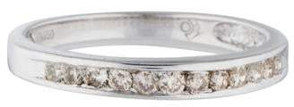 Ring Platinum Diamond Half Eternity Band