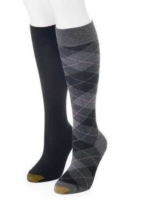 Gold Toe Goldtoe Women's GOLDTOE 2-pk. Argyle Knee-High Socks