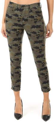 L'Agence Margot High Rise Skinny Stripe Jean