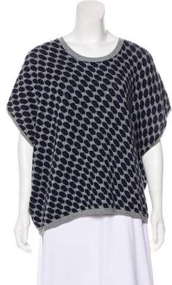 Allude Wool-Cashmere Blend Knit Top
