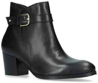 Nine West Black 'Calm' Block Heeled Ankle Boots