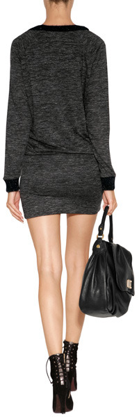 Vanessa Bruno Dress in Heather Grey