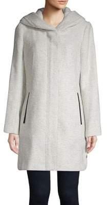 Cole Haan Long-Sleeve Textured Jacket