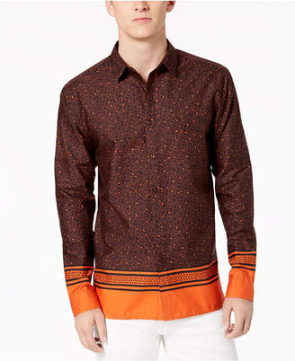 INC International Concepts I.n.c. Men's Multi-Print Shirt, Created for Macy's