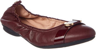 Taryn Rose Abriana Leather Flat