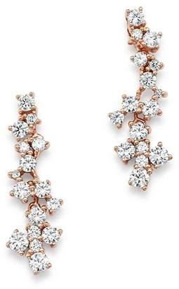 Bloomingdale's Diamond Cascade Drop Earrings in 14K Rose Gold, 0.75 ct. t.w. - 100% Exclusive