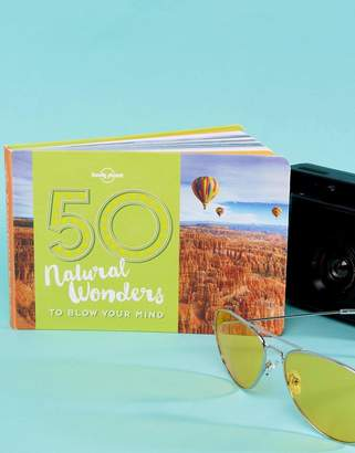 Books Lonely Planet 50 Natural Wonders Travel Book