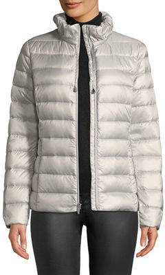 Via Spiga Packable Down Puffer Jacket