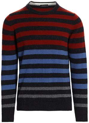 Saks Fifth Avenue COLLETION Cashmere Striped Sweater