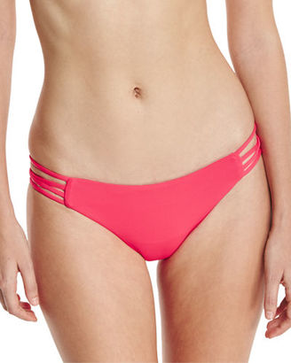L Space Swimwear by Monica Wise Low-Down Strappy Swim Bottom $73 thestylecure.com