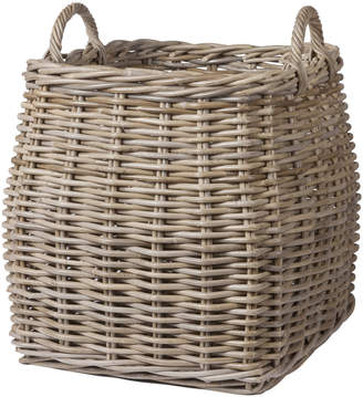 At Amara Garden Trading Tapered Log Basket