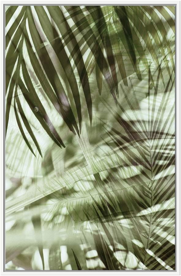 Through the Palms (Framed Giclee)